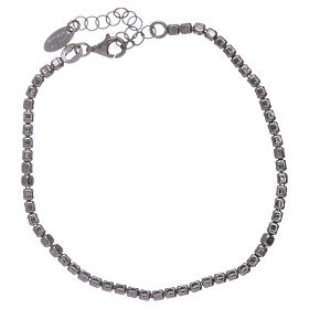 AMEN 925 rhodium plated sterling silver bracelet s2