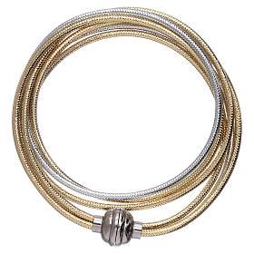 AMEN bracelets: AMEN lurex bracelet golden colour 38 cm