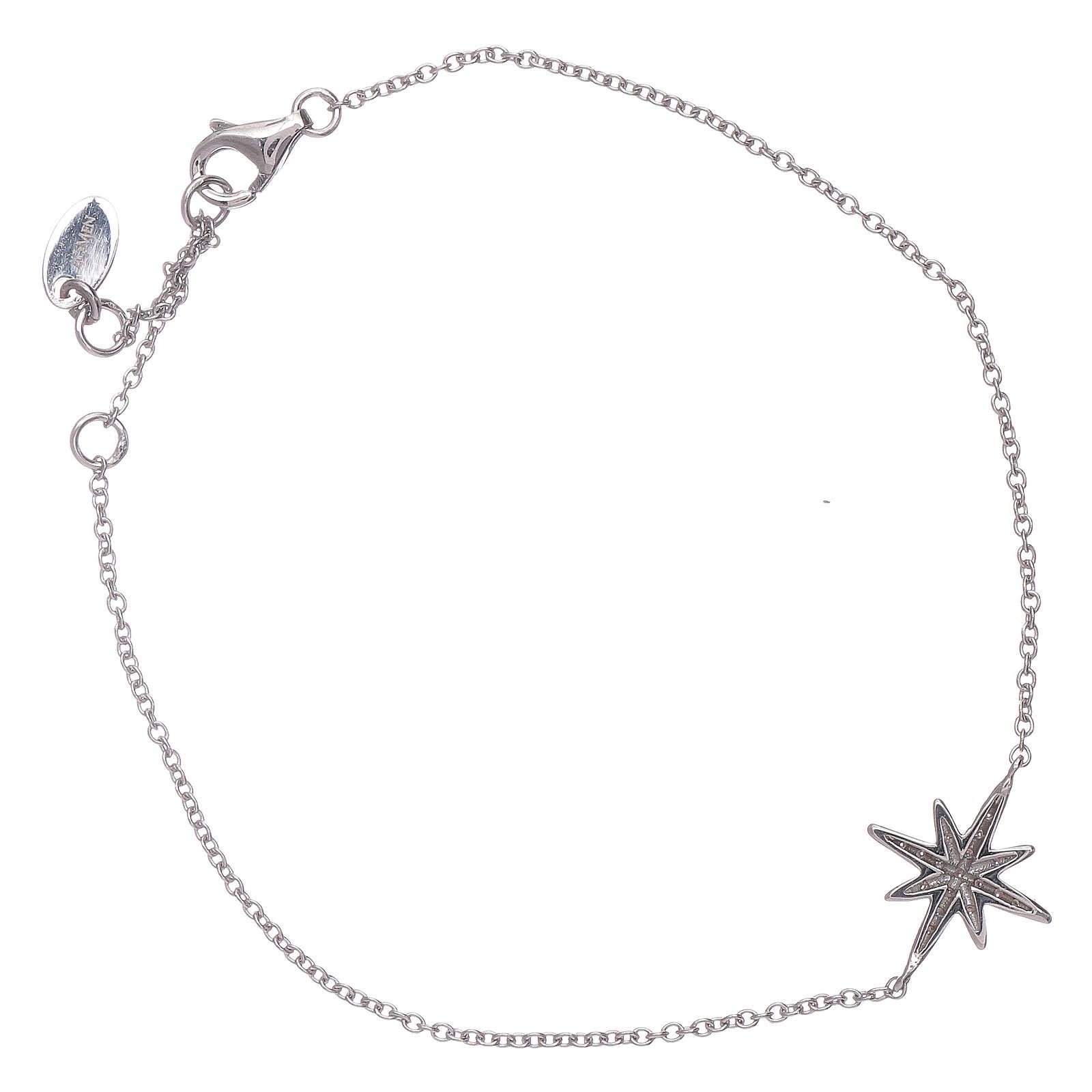 Bracciale argento 925 Amen con Stella Ventis di zirconi 4