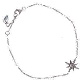 Bracciale argento 925 Amen con Stella Ventis di zirconi s2