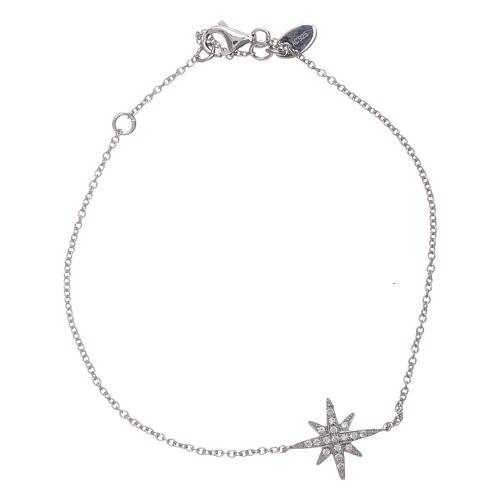 Bracciale argento 925 Amen con Stella Ventis di zirconi 1