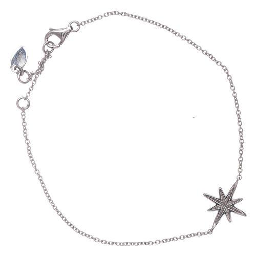 Bracciale argento 925 Amen con Stella Ventis di zirconi 2