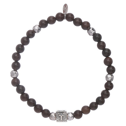 AMEN ebony 925 sterling silver Faith, Hope and Charity 1