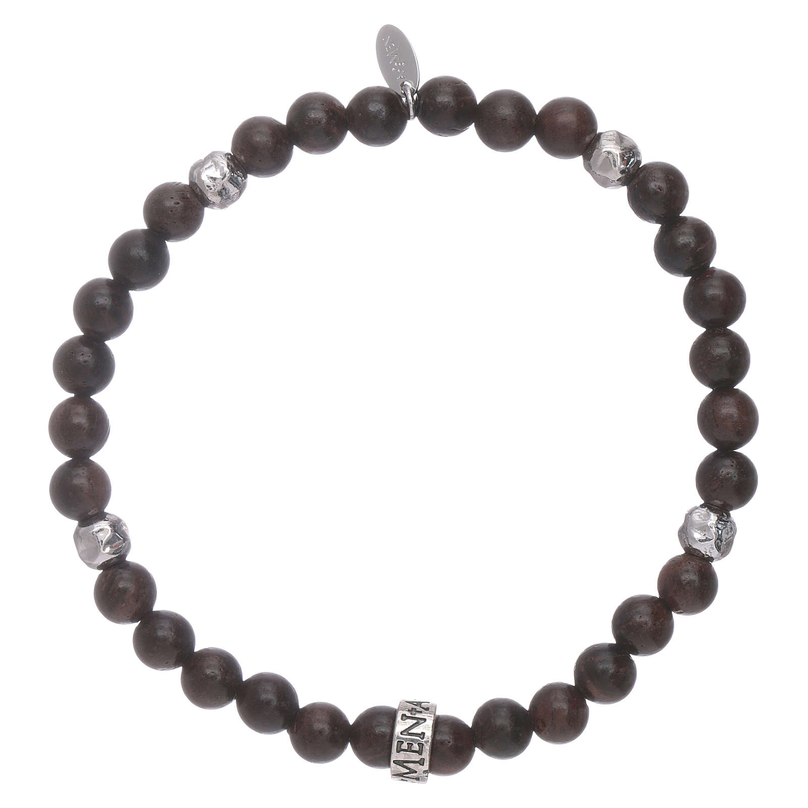 AMEN 925 sterling silver ebony bracelet with insert 4