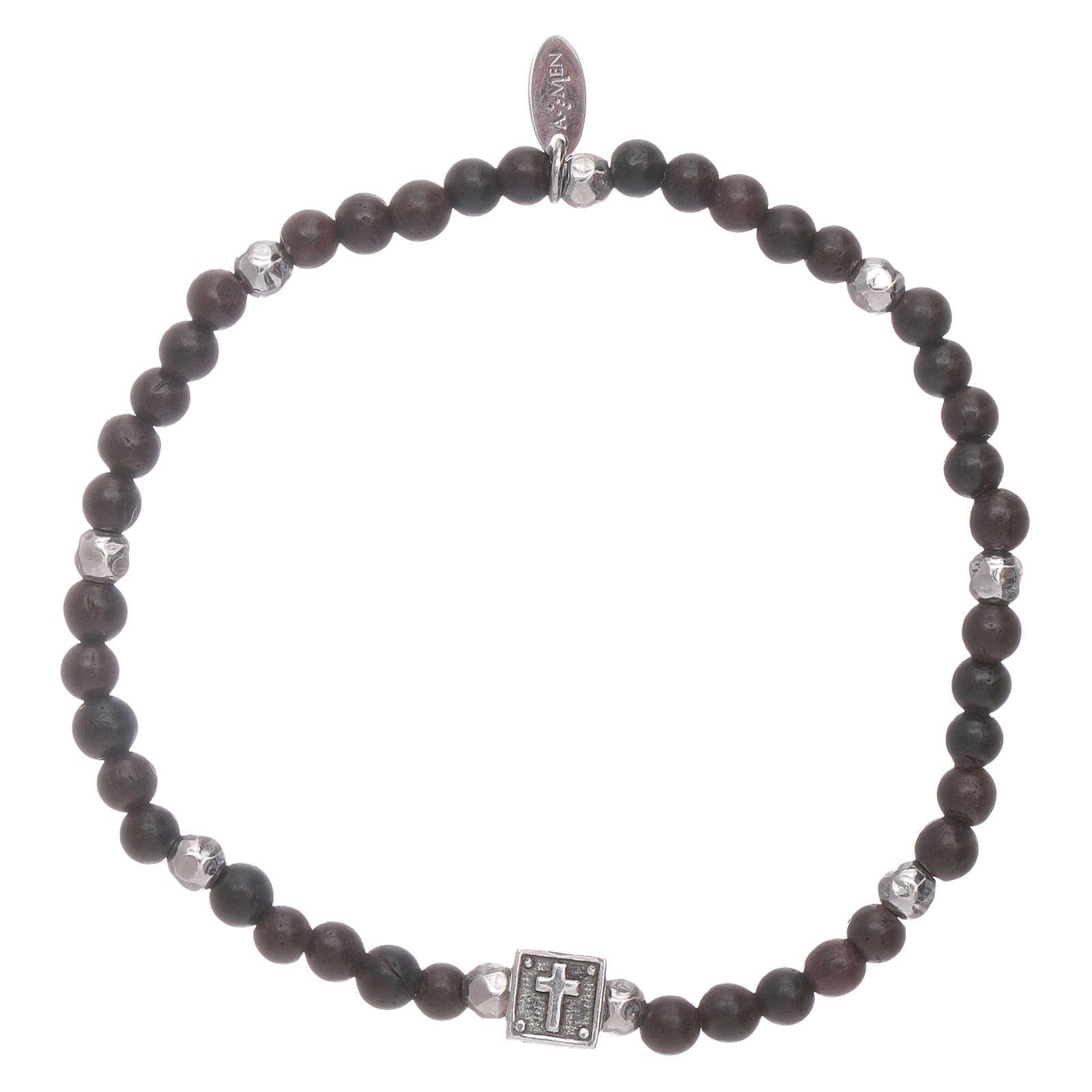 AMEN ebony bracelet with