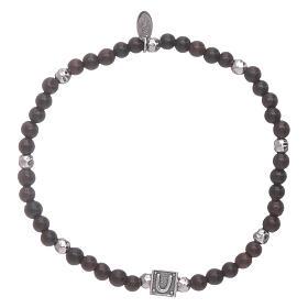 AMEN bracelets: AMEN ebony bracelet with