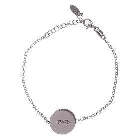 Bracciale donna AMEN arg 925 con messaggino romantico s1