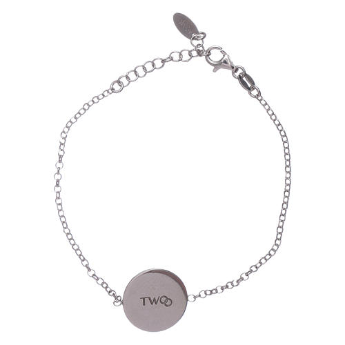 Bracciale donna AMEN arg 925 con messaggino romantico 1