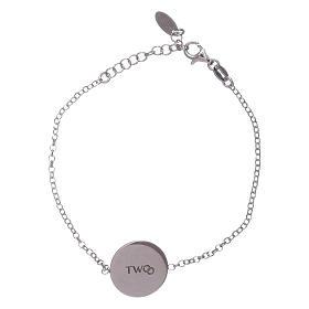 AMEN bracelets: AMEN 925 sterling silver bracelet for women with romantic message