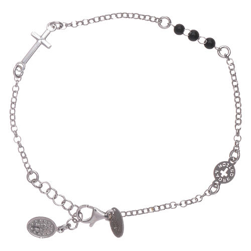 AMEN 925 sterling silver bracelet Our Father with cross 2