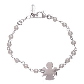 AMEN bracelets: AMEN 925 sterling silver junior bracelet with angel insert