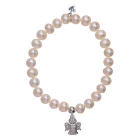 AMEN bracelets: AMEN 925 sterling silver bracelet with a little angel insert and zircon charms