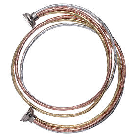 AMEN golden colour bracelet in rosè and silver s3