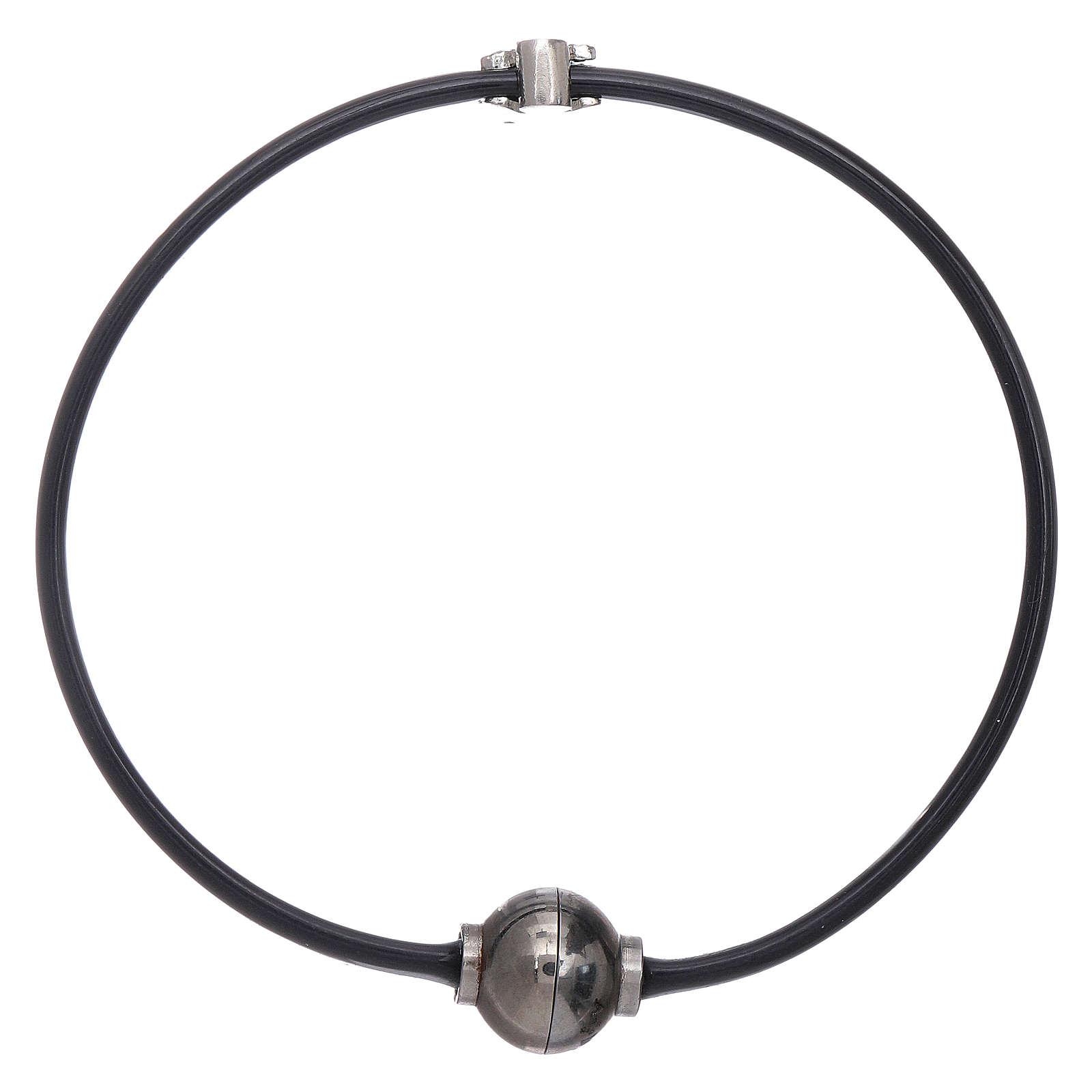 AMEN thermoplastic 925 sterling silver bracelet with a zirconate angel insert 4