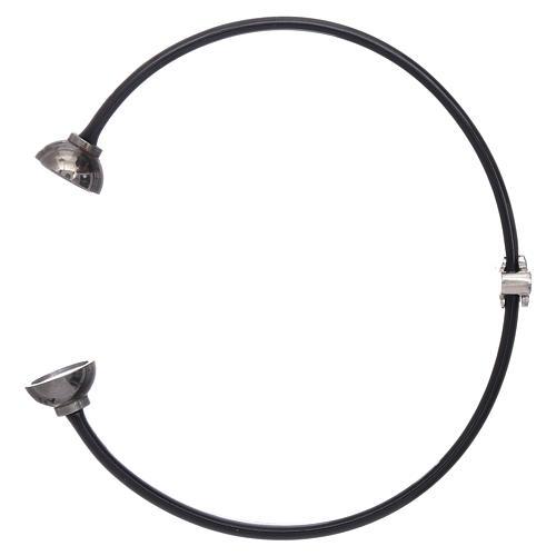 AMEN thermoplastic 925 sterling silver bracelet with a zirconate angel insert 3