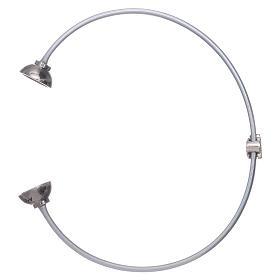 Bracciale angioletto zirconato arg 925 AMEN termoplastica grigio s3