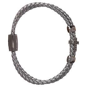 AMEN bracelets: AMEN Bracelet in 925 sterling silver with a rhodium zirconate angel