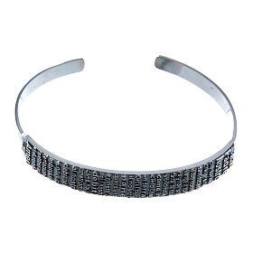 Bracelet AMEN esclave Notre Père ITA argent 925 s1