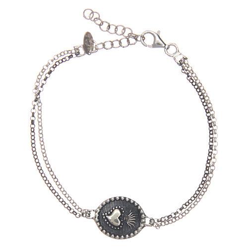 Bracelet AMEN Sacré-Coeur argent 925 1