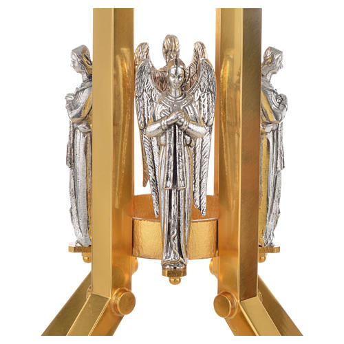 Paschal candle stand with angel decoration 2