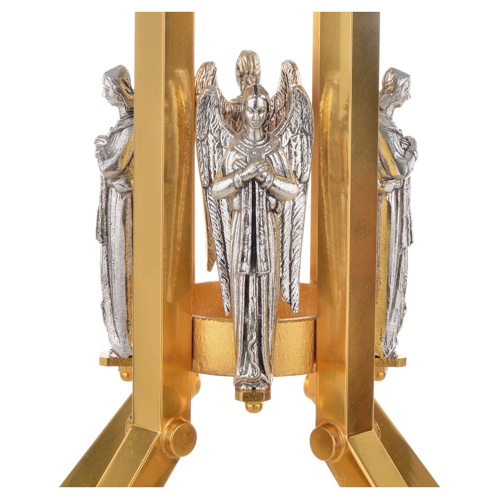 Base portacirio ángeles 4