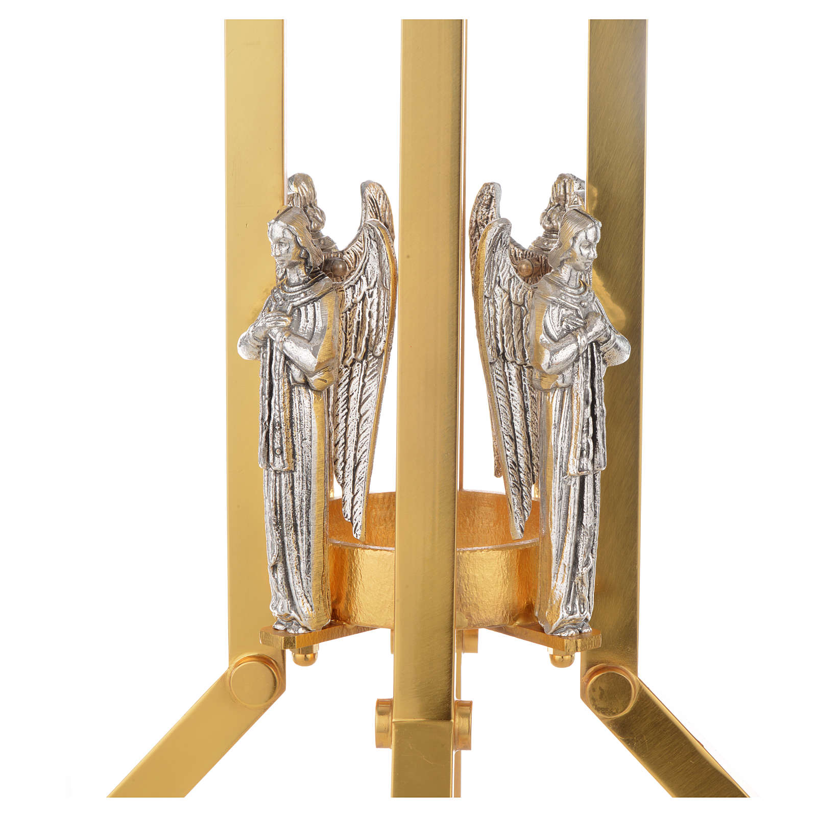 Paschal candle stand with angel decoration 4