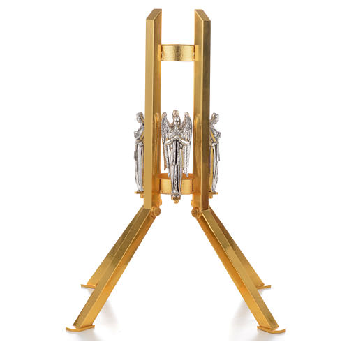 Paschal candle stand with angel decoration 1