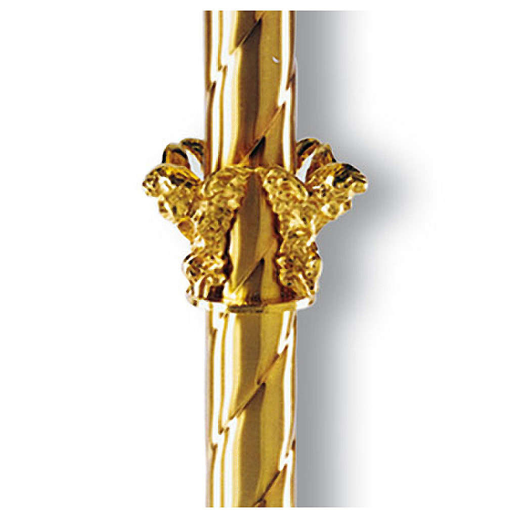 Paschal candle stand with putti 4