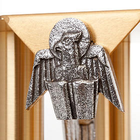 Tronetto angeli e simboli evangelisti s4
