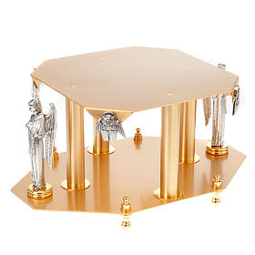 Monstrance stand with angels and evangelists s1