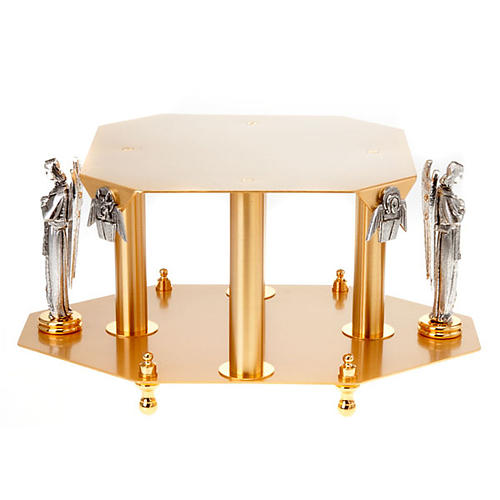 Monstrance stand with angels and evangelists 5