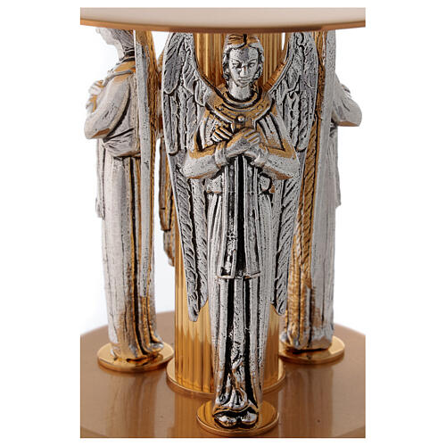 Monstrance stand with three angels 2