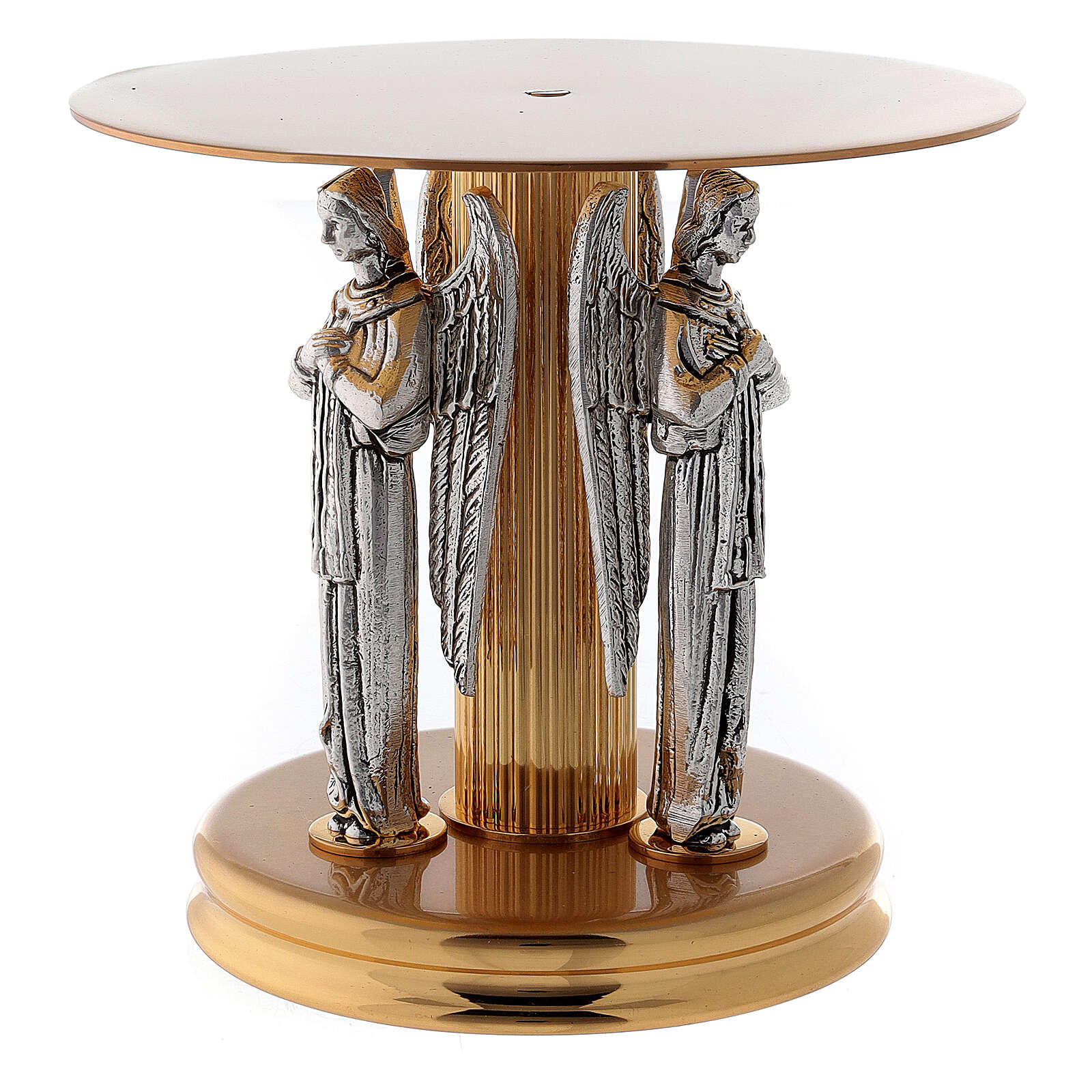 Monstrance stand with three angels 4