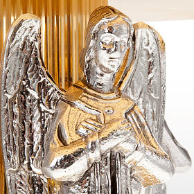 Monstrance stand with three angels s4