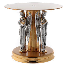 Monstrance stand with three angels s3