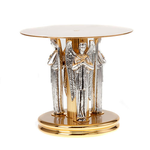 Monstrance stand with three angels 1