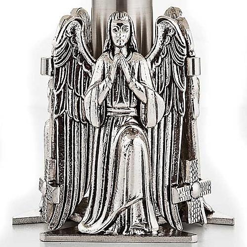 Trono con angeles en oración 4