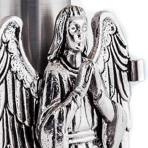 Trono con angeles en oración 5