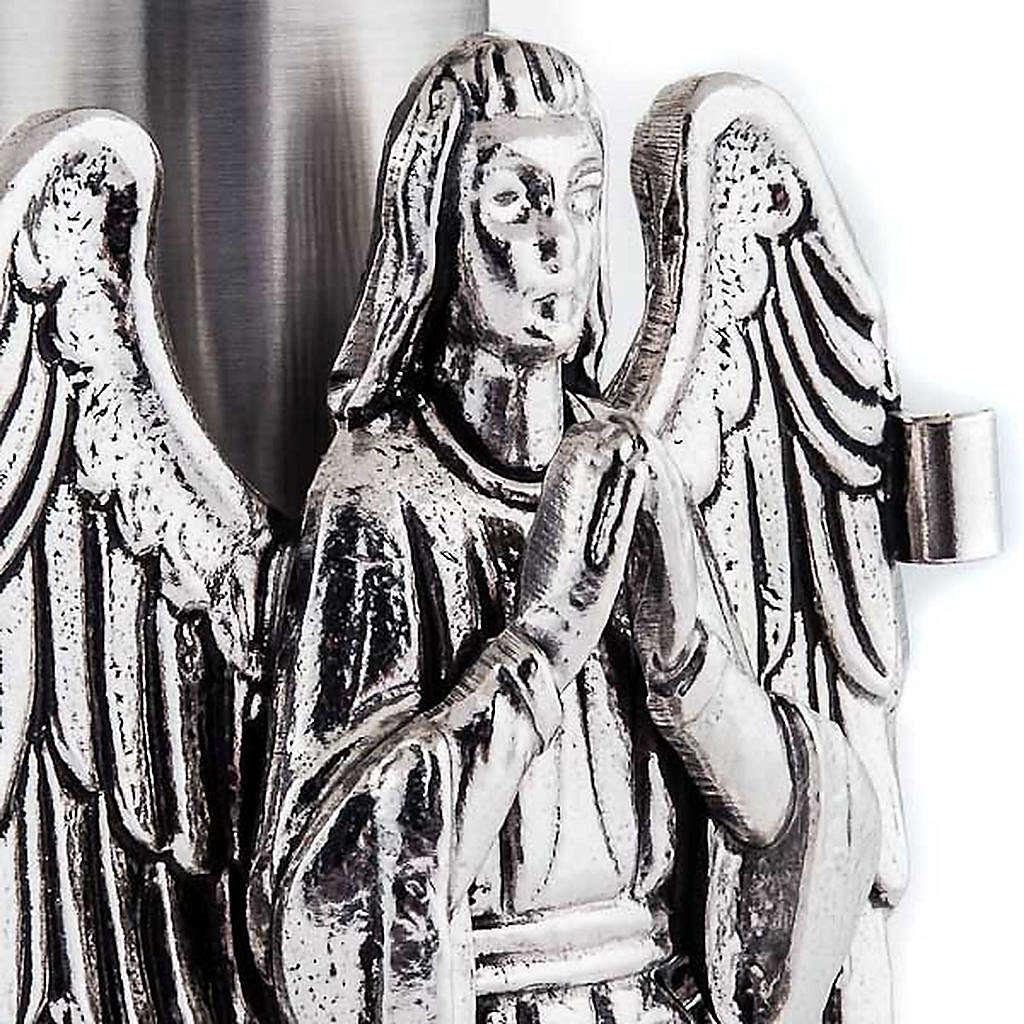 Suporte de ostensório anjo a rezar 4