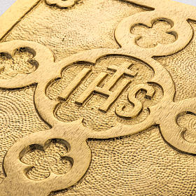 Trono de latón fundido dorado s5