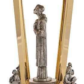 Trône laiton bronze 4 Evangélistes s8