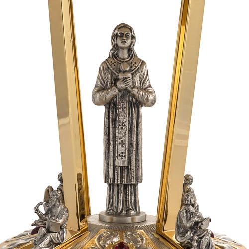 Suporte ostensório base bronze 4 Evangelistas 3