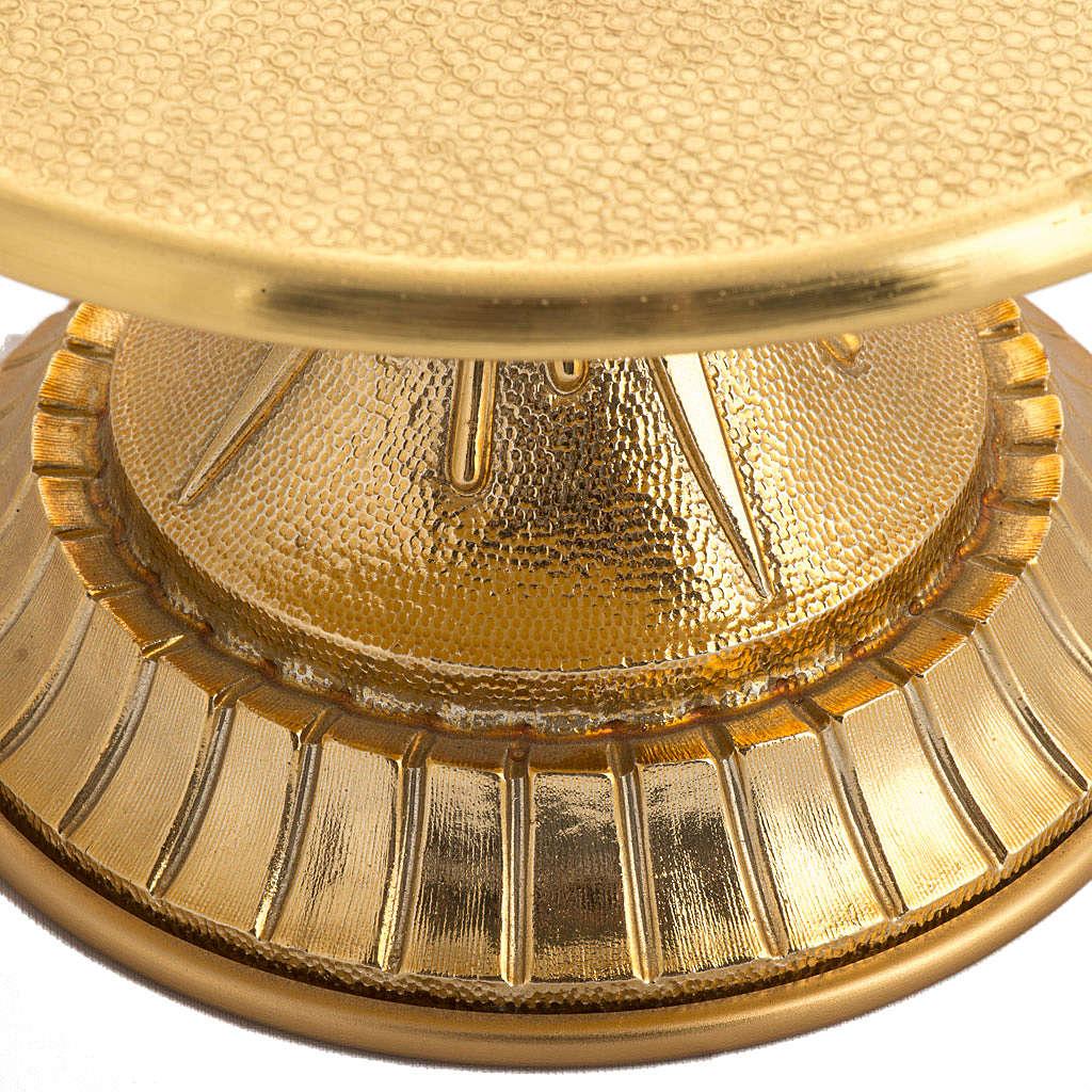 Tronetto in ottone dorato 4