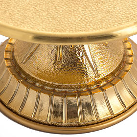 Throne for monstrance in gold-plated brass s2