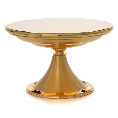 Monstrance throne, brass plate 2