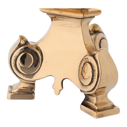 Monstrance stand with cast brass base 2