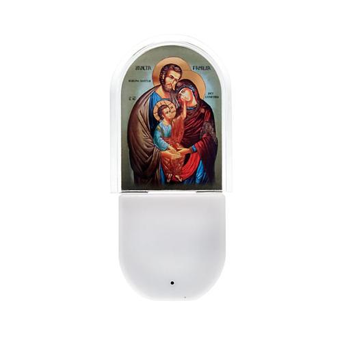 Holy Family night light 1