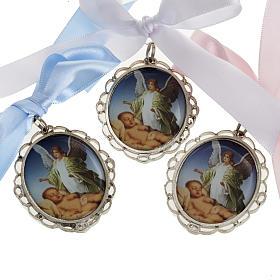 Medalhões e Medalhas para Berço: Medalhão de berço 3 cores