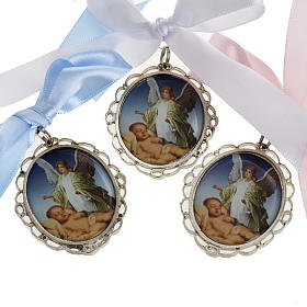 Medal, cradle decoration in 3 colours s1