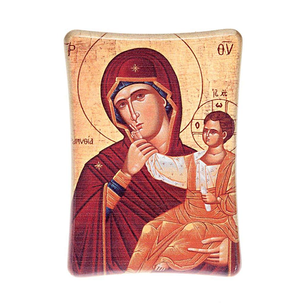 Virgen con Niño de mesa 3